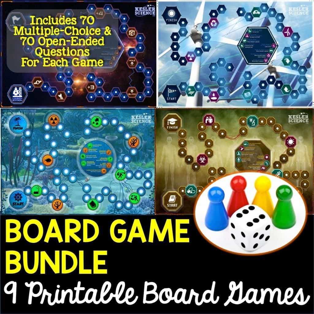 8th grade science staar review kesler science 9 printable board games that cover every 8th grade science readiness and supporting teks gamestrikefo Images