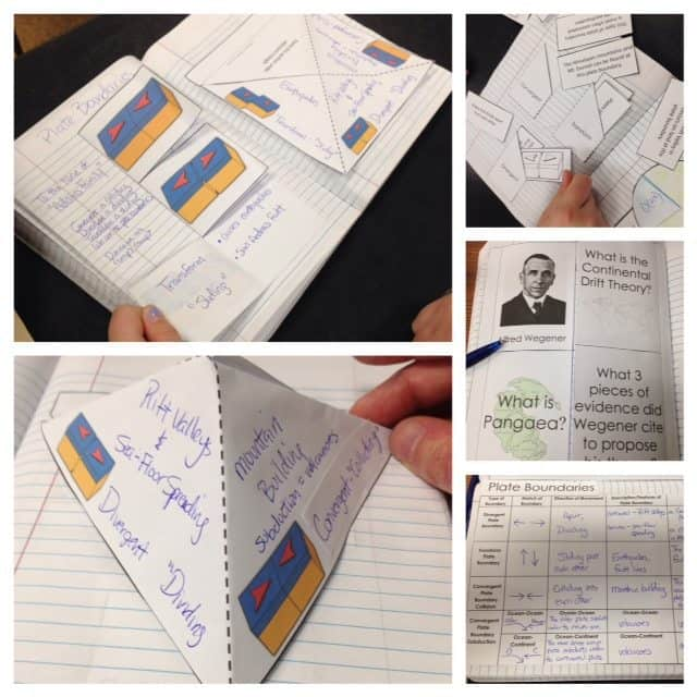 earth science for interactive notebooks