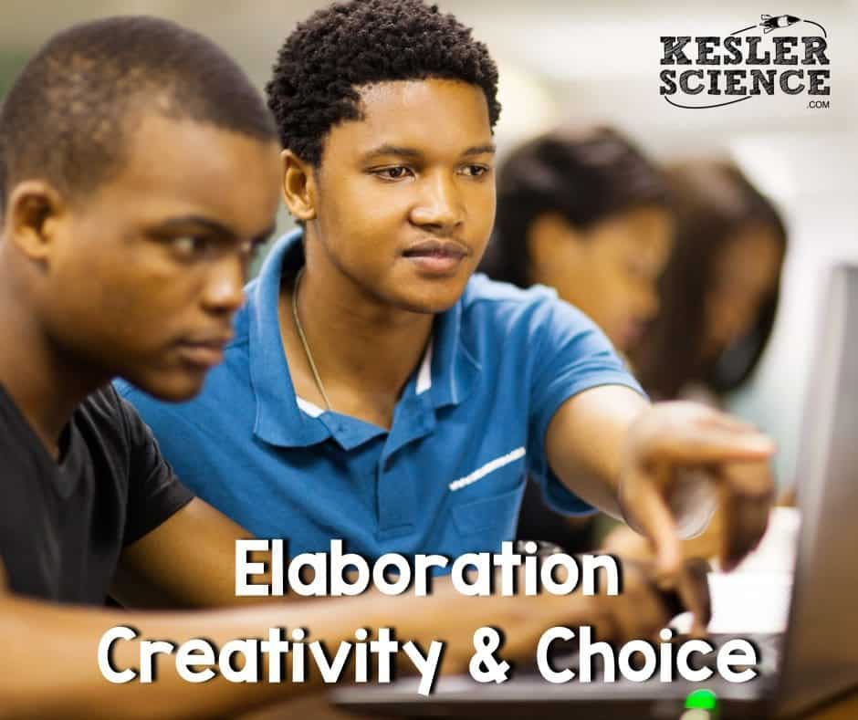 Elaboration Creativity and choice 5e