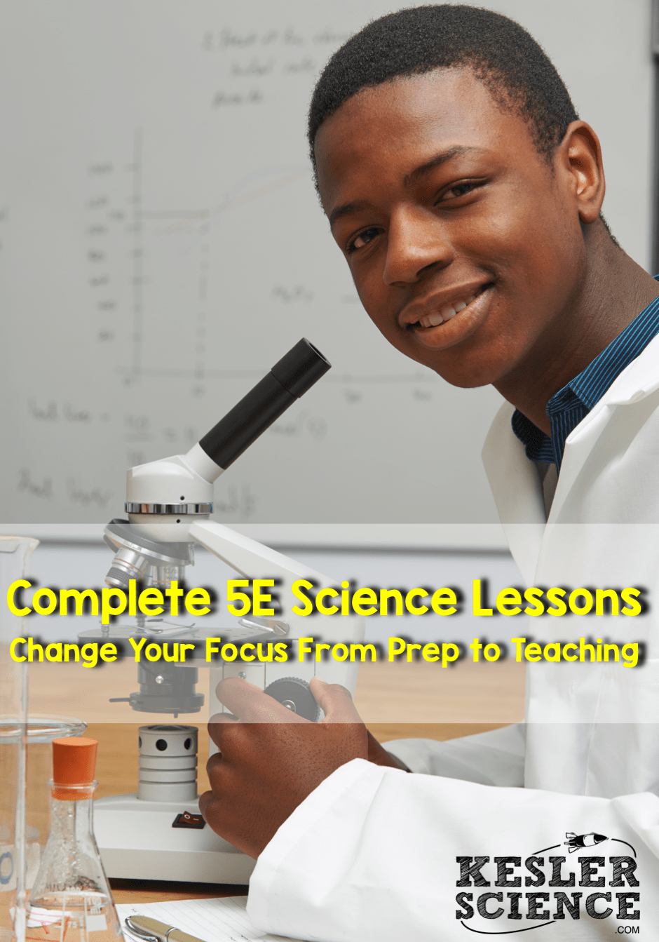 Complete 5E Science Lessons - All the work is done for you!