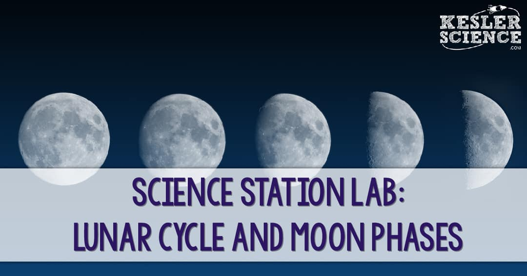 Mad Science Station Labs - Lunar Cycle and Moon Phases ...