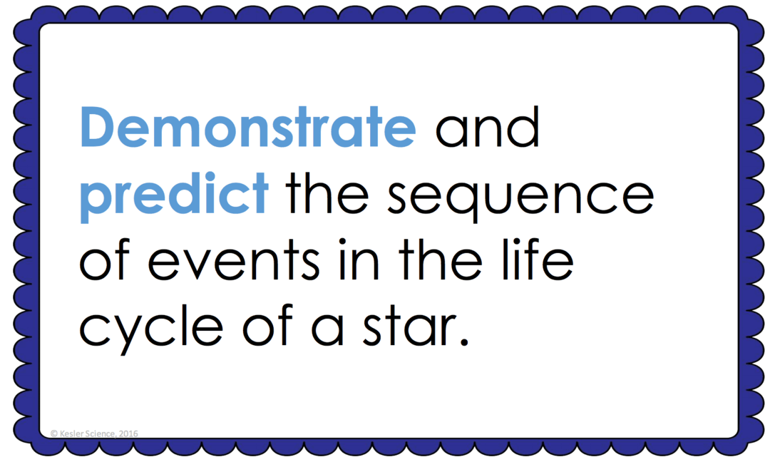 Life Cycle Of A Star Lesson Plan A Complete Science Lesson Using