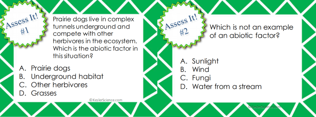 Abiotic and Biotic Factors 5E Lesson