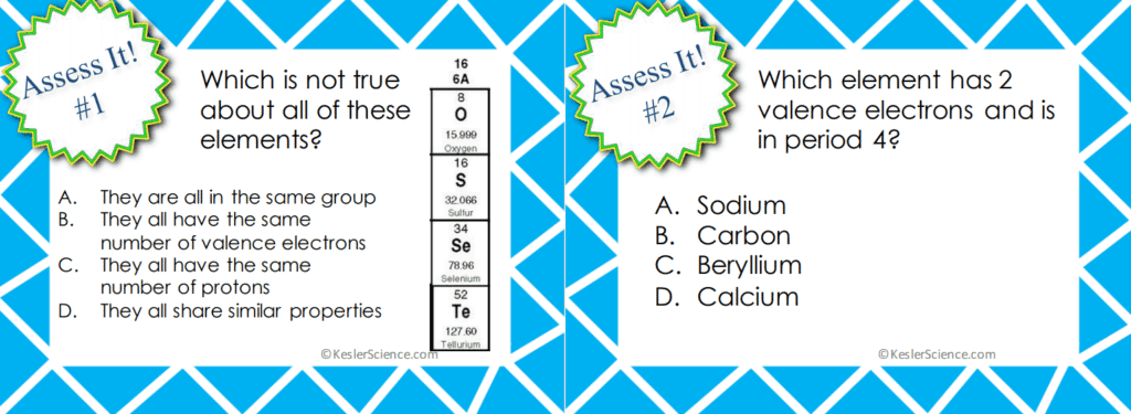Periodic Table and Reactivity 5E Lesson