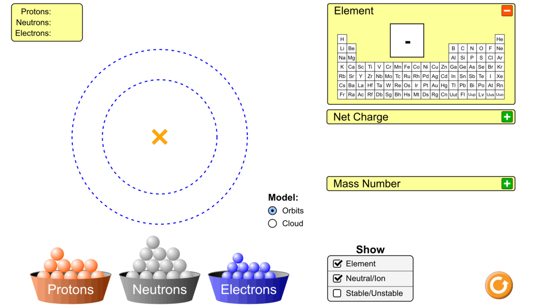Atoms lesson plan a complete science lesson using the 5e method students will have to build and identify the atom as students build a random atom they will discover which subatomic particle determines the identity of pooptronica Gallery
