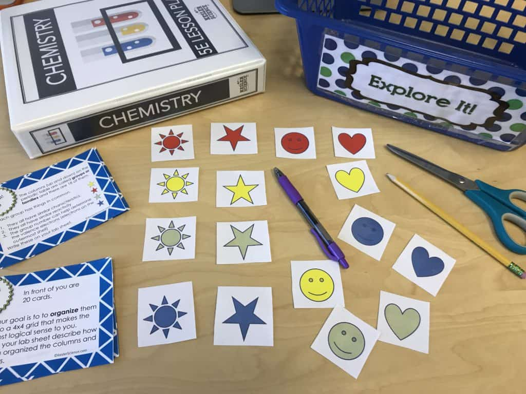 Periodic table and reactivity lesson plan a complete science periodic table and reactivity 5e lesson gamestrikefo Gallery