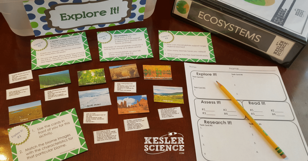 Biomes 5E Lesson Plan - Kesler Science