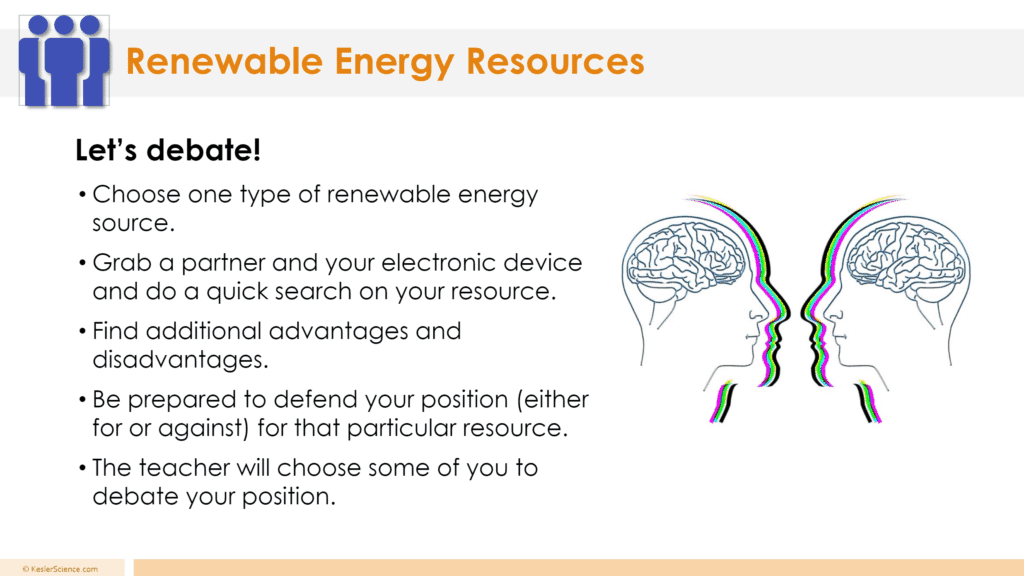 Renewable Resources 5E Lesson