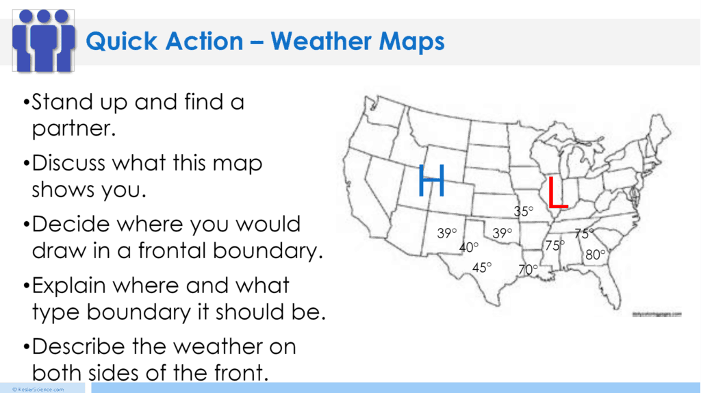 Weather Maps And Air Pressure Lesson Plan A Complete Science