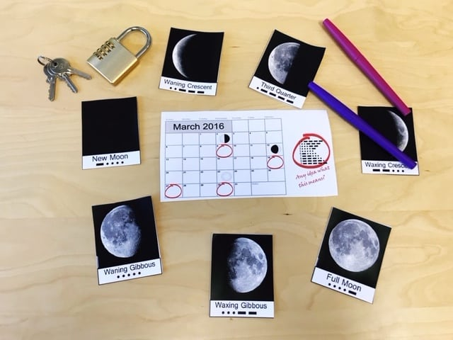 Lunar Cycle Escape Room- Kesler Science