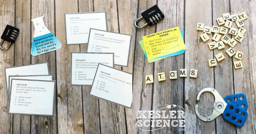 Periodic Table Escape Room - Kesler Science